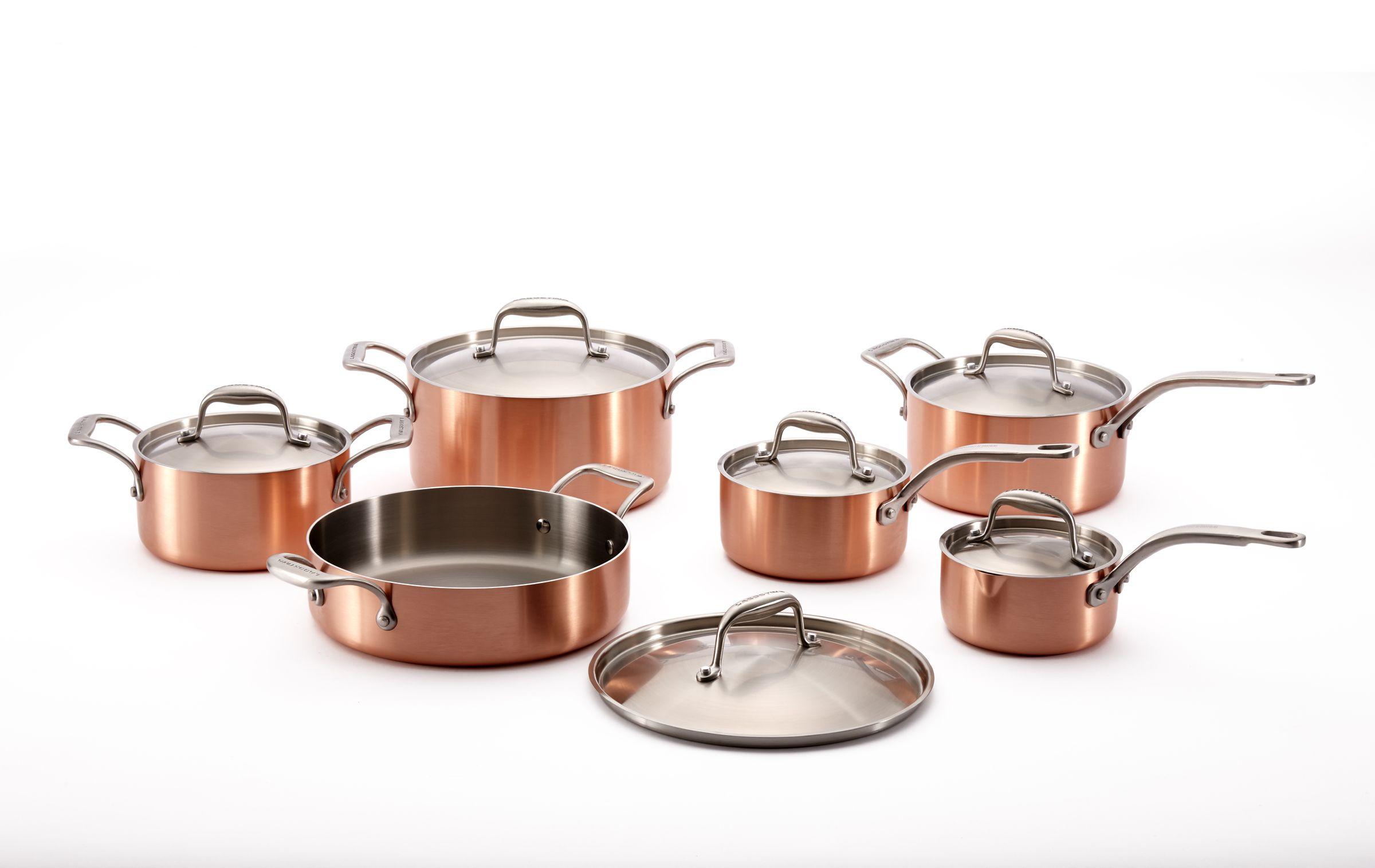 European Kitchen Gadgets Premium Cabinets Manufacturers Lagostina Copper Euro Clad 12 Pc Food Stuffs Tools