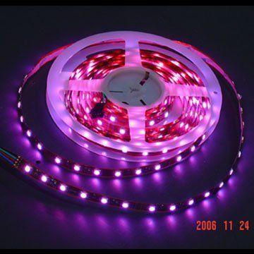 Ledwholesalers 12v Smd5050 Led Tri Chip Horizontal Ribbon Flexible Led Strip Light 5m 16ft Wate Color Changing Led Led Strip Lighting Flexible Led Strip Lights
