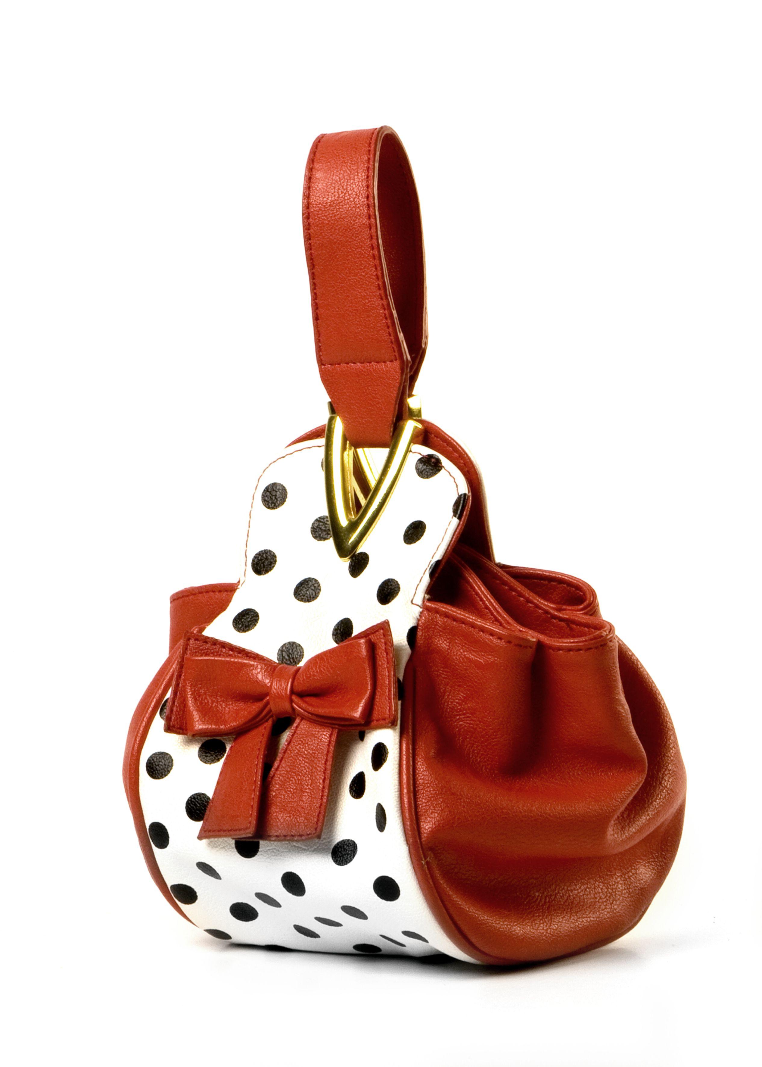 Ausgefallene Handtaschen Trendige Handtaschen Mit Punkten