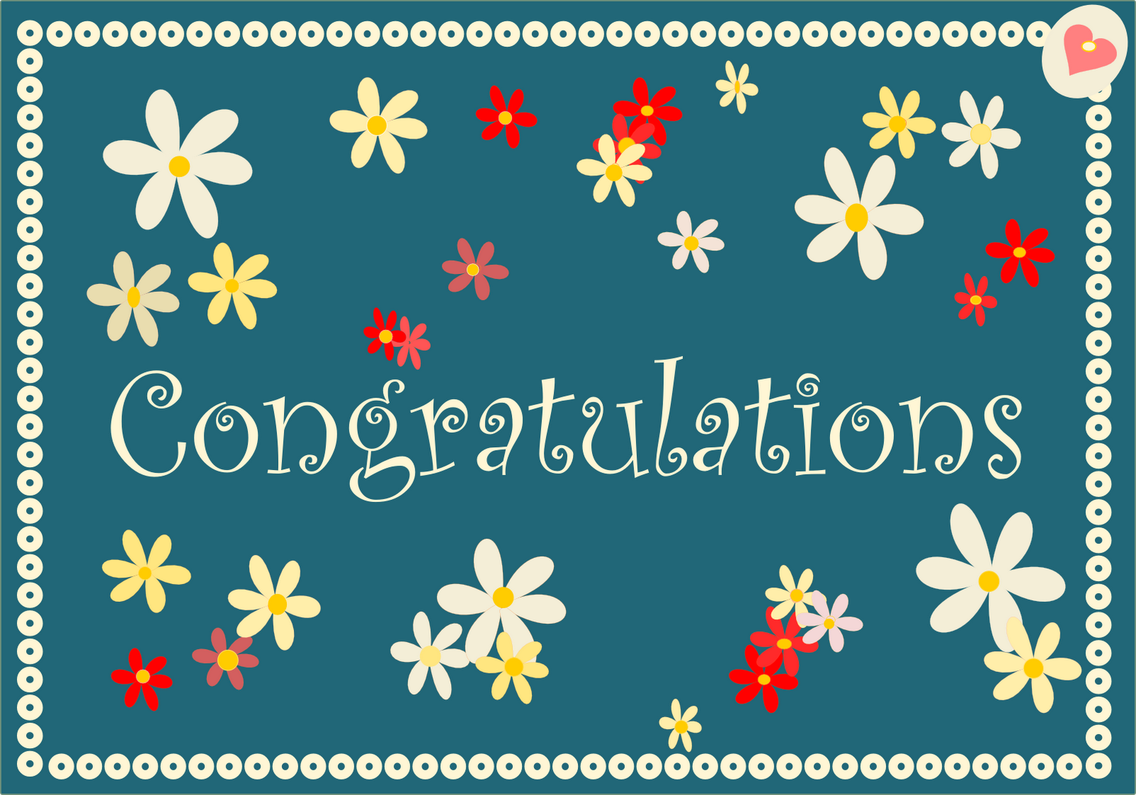 photo relating to Free Printable Congratulations Cards identified as cost-free printable congratulations playing cards inside retro shades