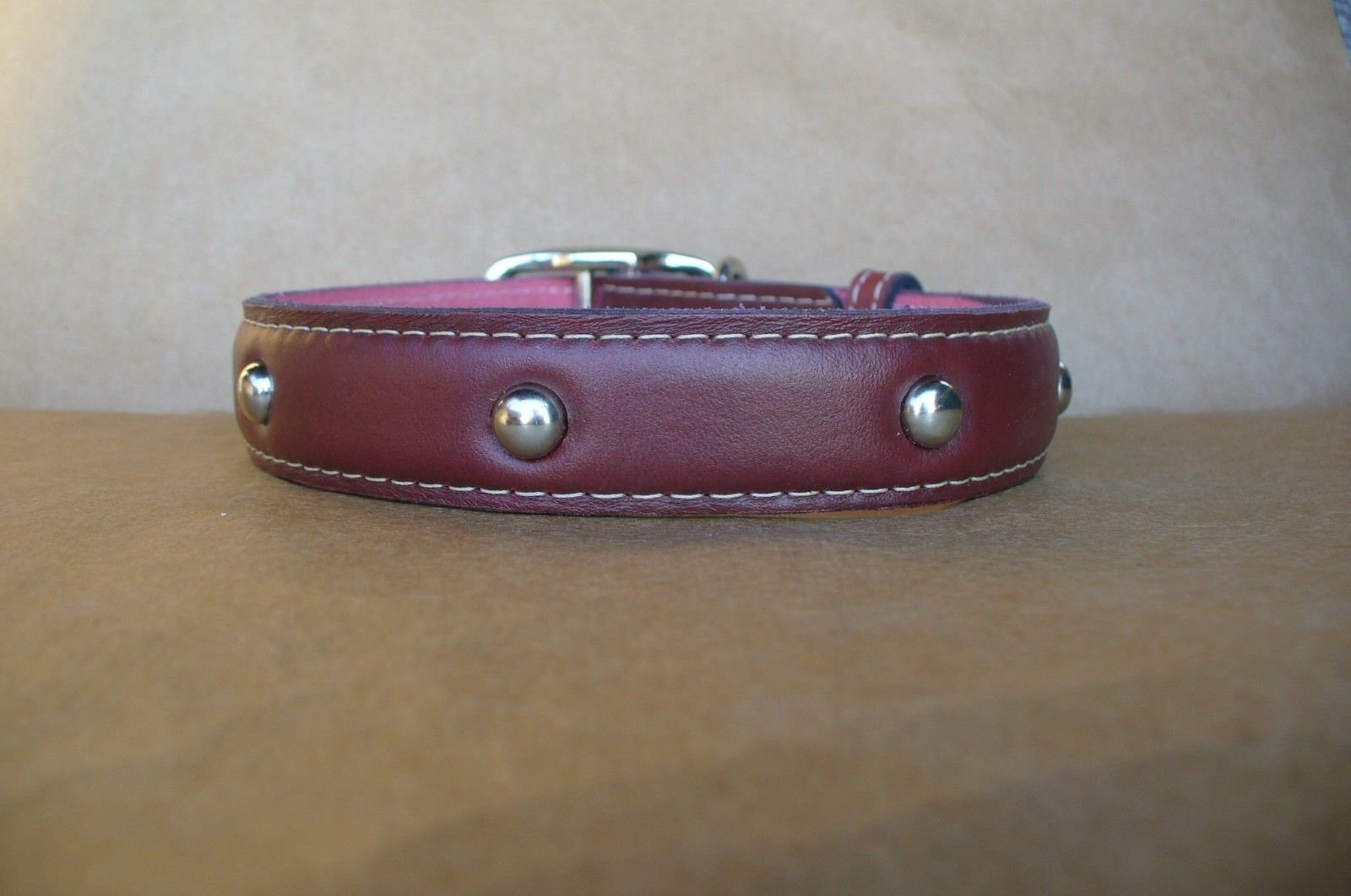 Large Leather Dog Collars - Studded Dog Collars - Unique Dog Collars and Leahes | eBay