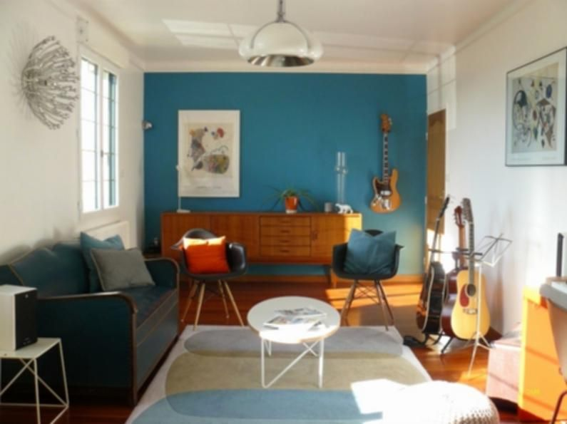 Decoration Interieur Bleu Canape Bleu Canard Inspirerend Idee Deco