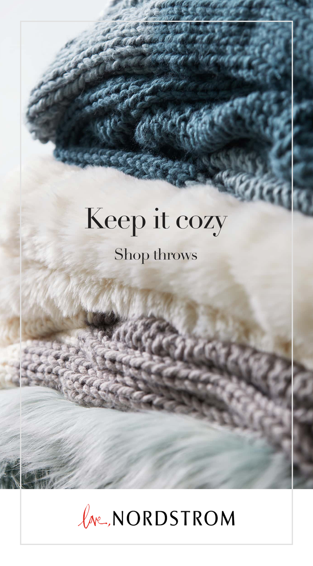 Add this cozy knit throw to your home. Shop Treasure & Bond at ...