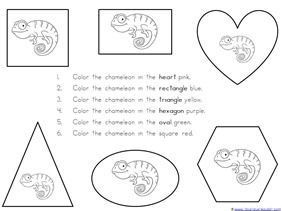 A Color of His Own Kindergarten Literature Unit Printables