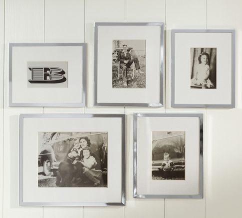 Gallery in a Box - Silver-Plated Frames | Pottery Barn | Home Ideas ...