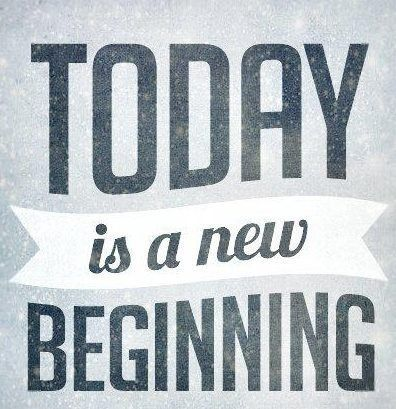Todays The Day Start New Start Fresh Start Strong Motivation