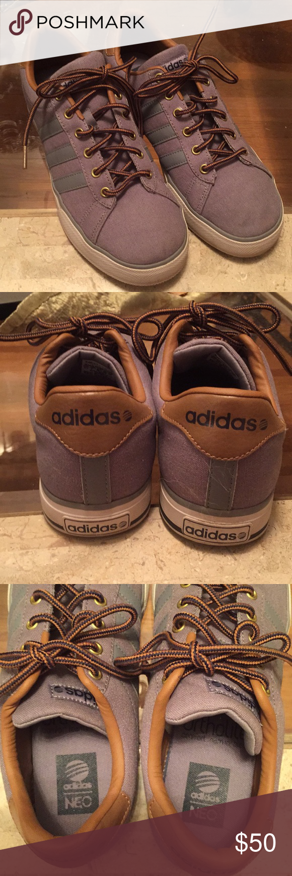 Adidas Neo athleisure shoes | Athleisure shoes, Adidas neo, Brown ...