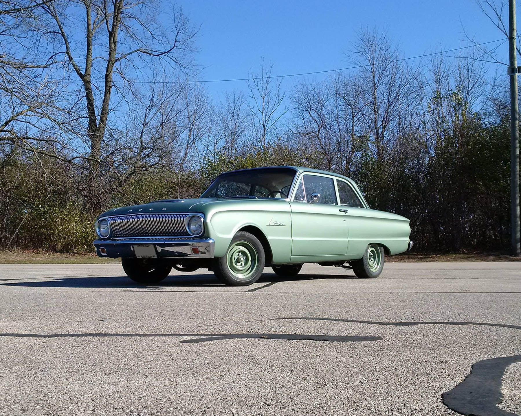 1962 Ford Falcon With A Turbo Duratec Inline Four Ford Falcon