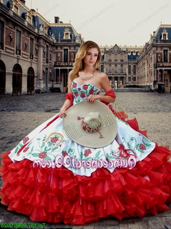 Mexican Quince Dresses
