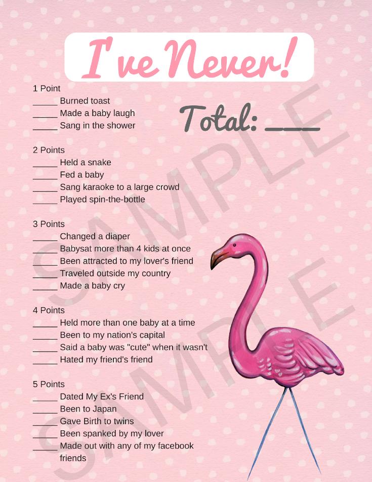 Flamingo Baby Shower Printable Games Plus Banner Print My Baby Shower Flamingo Baby Shower Baby Shower Card Sayings Baby Shower Printables