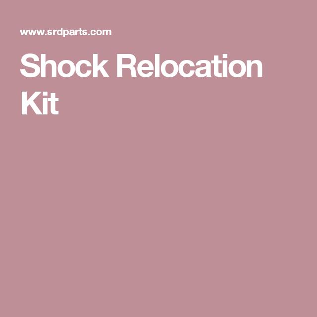 Shock Relocation Kit   BUILD IT   Building, Kit