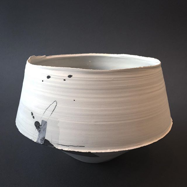 Medium Print Vessel By Hannah Tounsend Hannah Tounsend One Of Several Pieces In Our Current Exhibition Here At Snug Hebdenbrid Ceramic Bowls Ceramics Snug