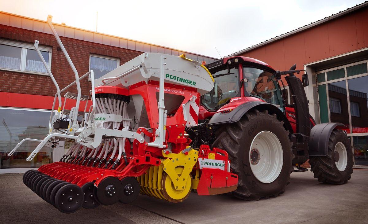 Pottinger Aerosem Pneumatische Samaschinen Pneumatik Landwirtschaftliche Maschinen Agrartechnik