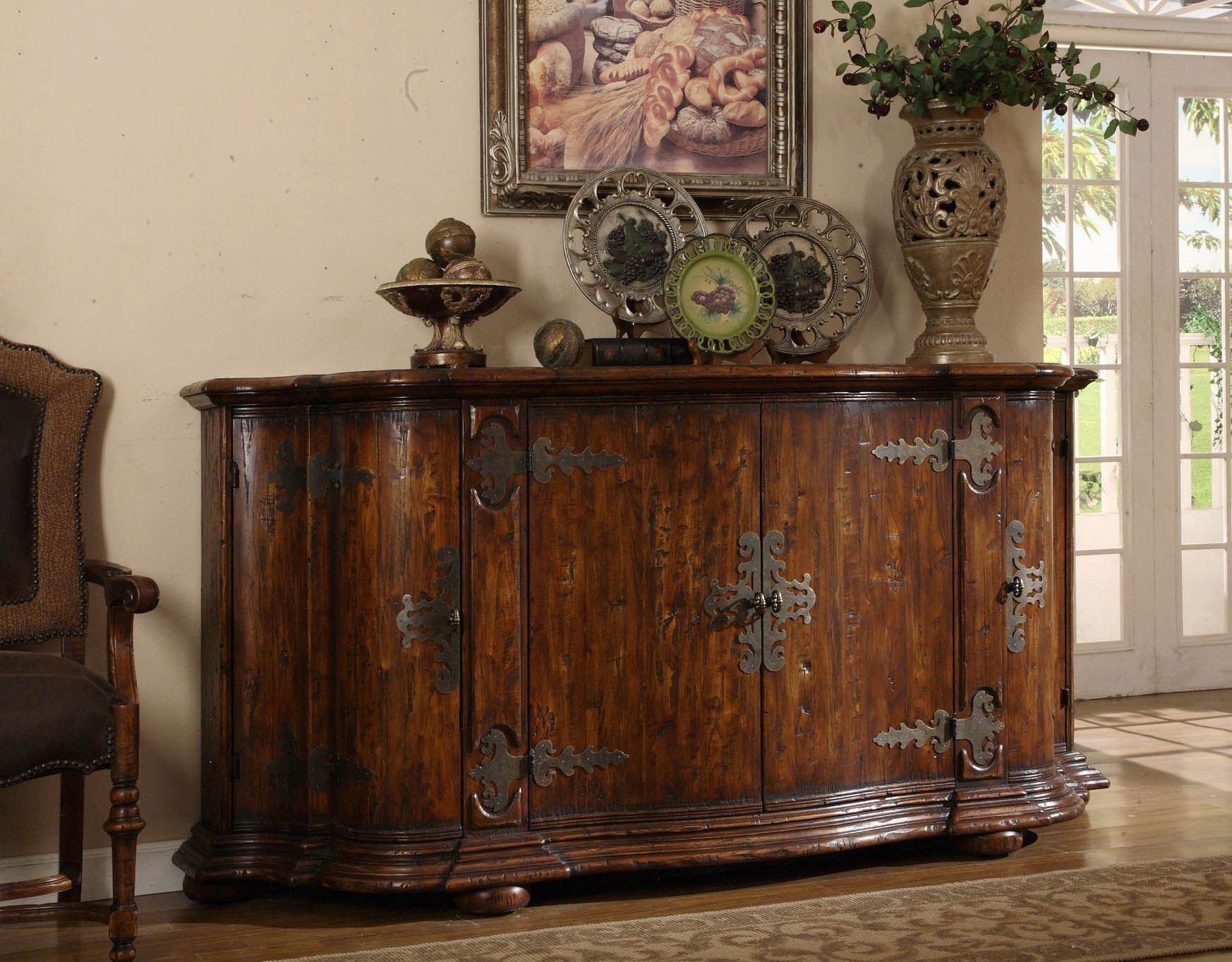 tuscan buffet table | Tuscan Furniture – Colorado Style Home ...