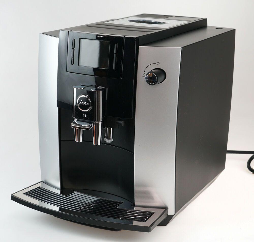 Jura E6 Super Automatic Coffee Center Machine 15070 - Platinum #juracoffeemachine Jura E6 Super Automatic Coffee Center Machine 15070 - Platinum #automaticcoffeemachine