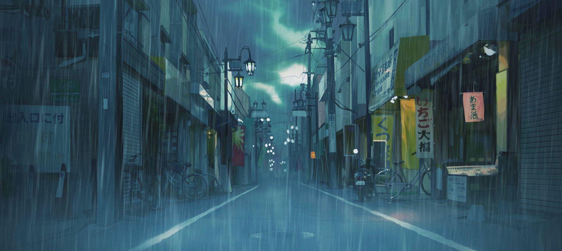 Pin On Anime Fondos 14 wallpaper anime city