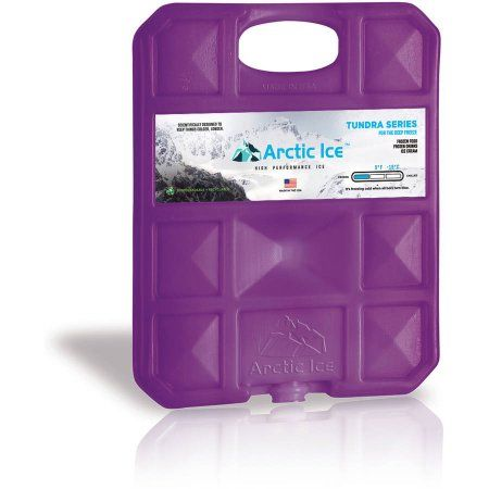 Lunch Boxes Camping Arctic Ice Tundra Series Long Lasting Reusable Ice Pack for Coolers Fishing and More 2-Pack