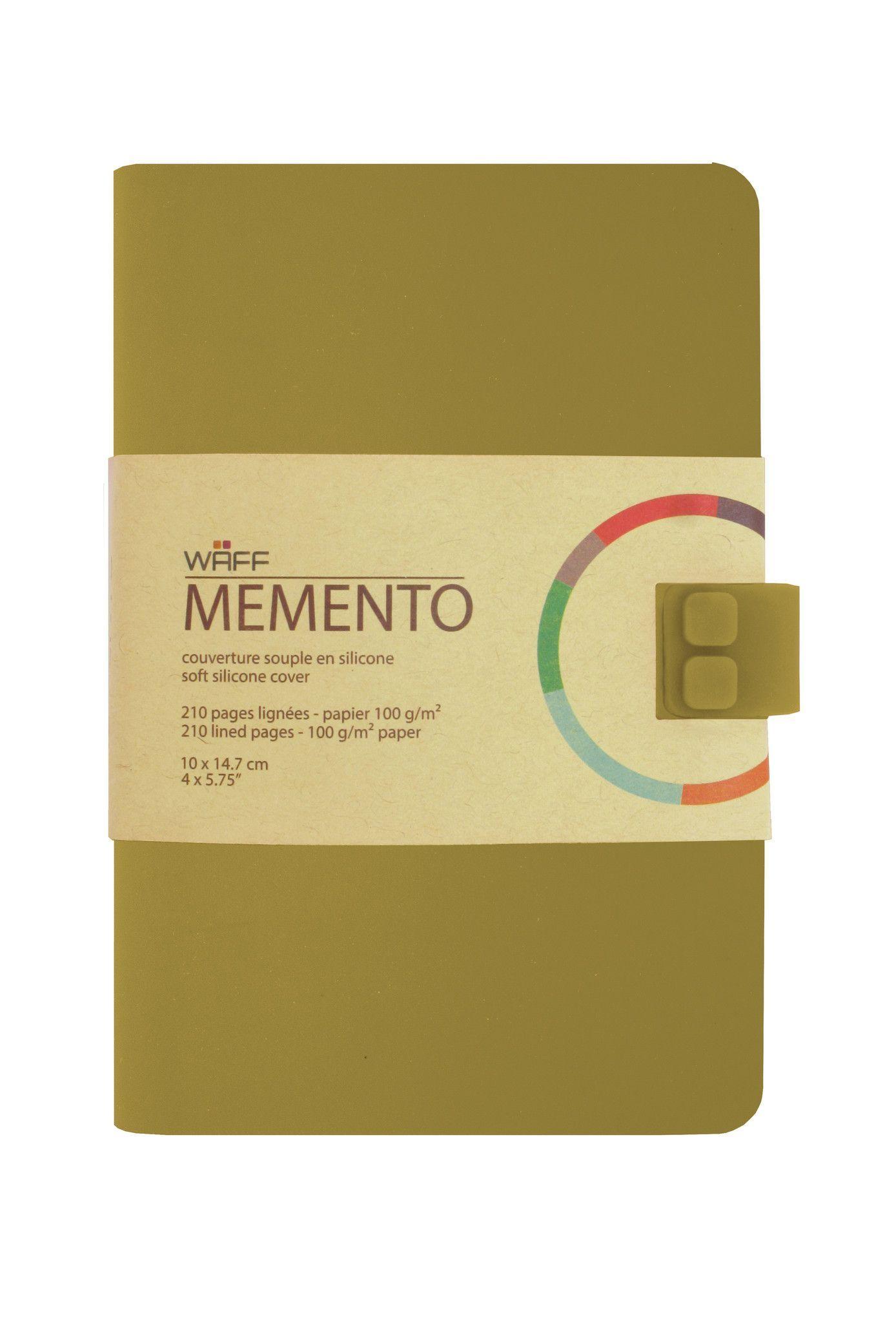 WAFF Memento Notebook - Olive / Medium
