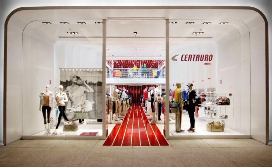 Interior Design Of Centauro Concept Store A Multi Sports Store