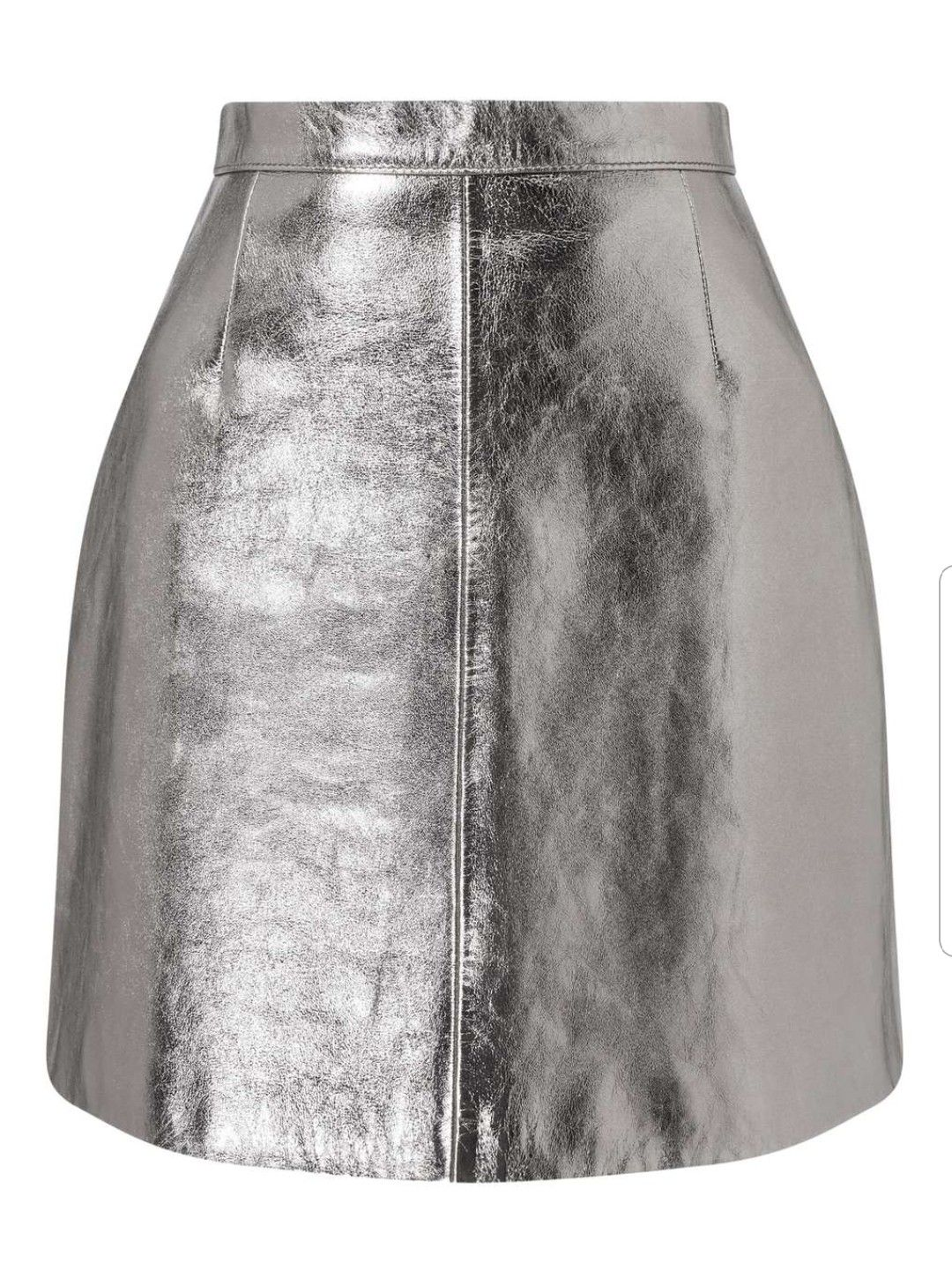 48808144f05d Silver leather mini skirt Miss Selfridge (sold out) | Future fashion ...