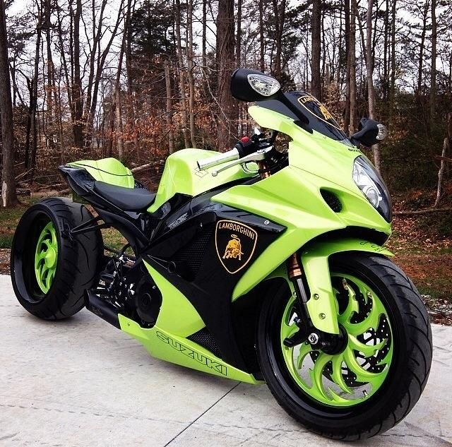 Gsxr 1000 Lamborghini Sports Motorcycles Motorcycle Sport