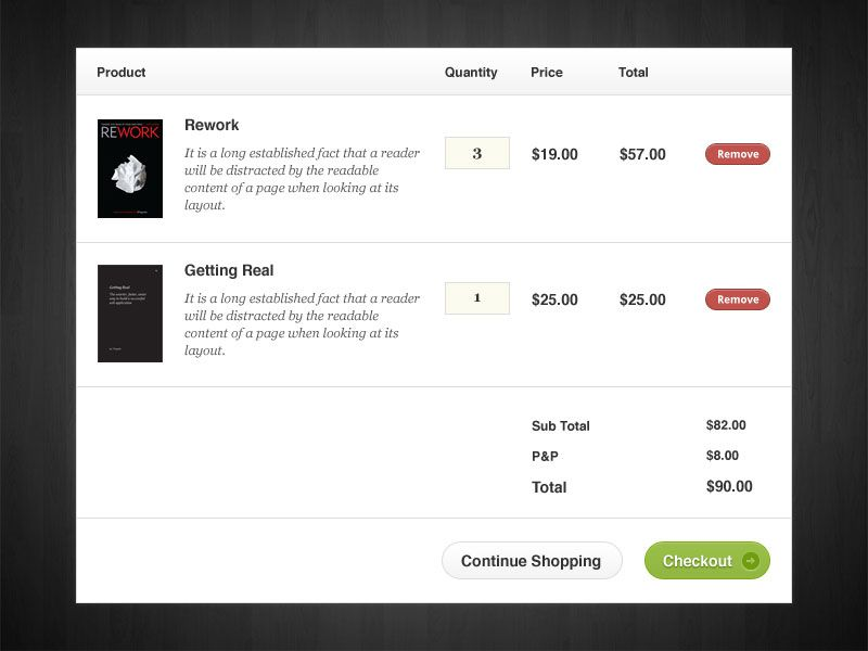 What S In Your Basket A Simple Shopping Cart Checkout Page Freebie Web Design Freebies Web Design Design Freebie