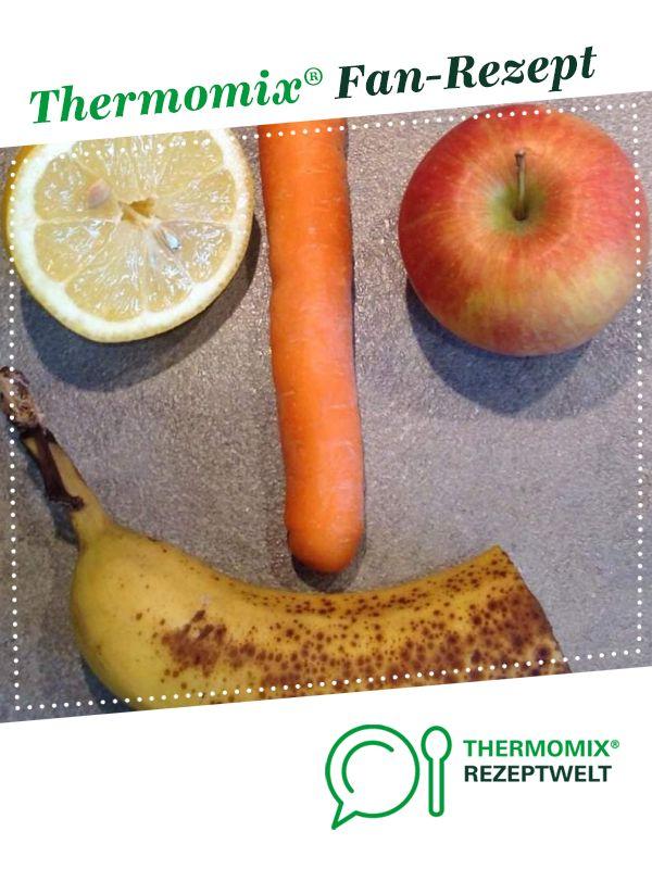Schneller Smoothie von Teichmari64. Ein Thermomix ® Rezept aus der Kategorie Getränke auf www.rezeptwelt.de, der Thermomix ® Community. #fruitsmoothie
