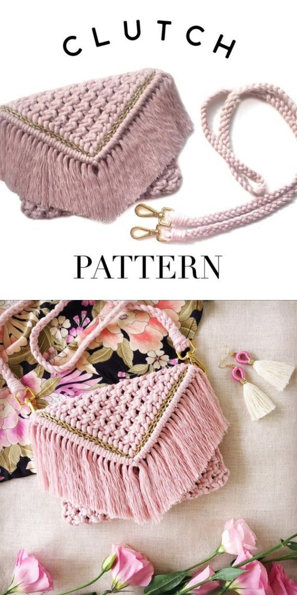 How to Make Macrame Purses and Bags: 8+ Incredible Tutorials