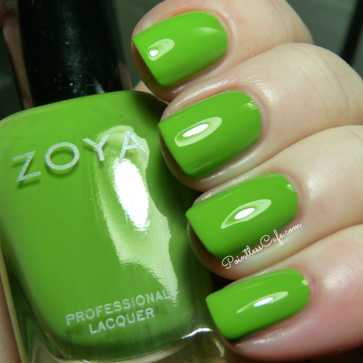 Zoya Tickled Collection: Summer 2014 - Swatches and Review - Green ...