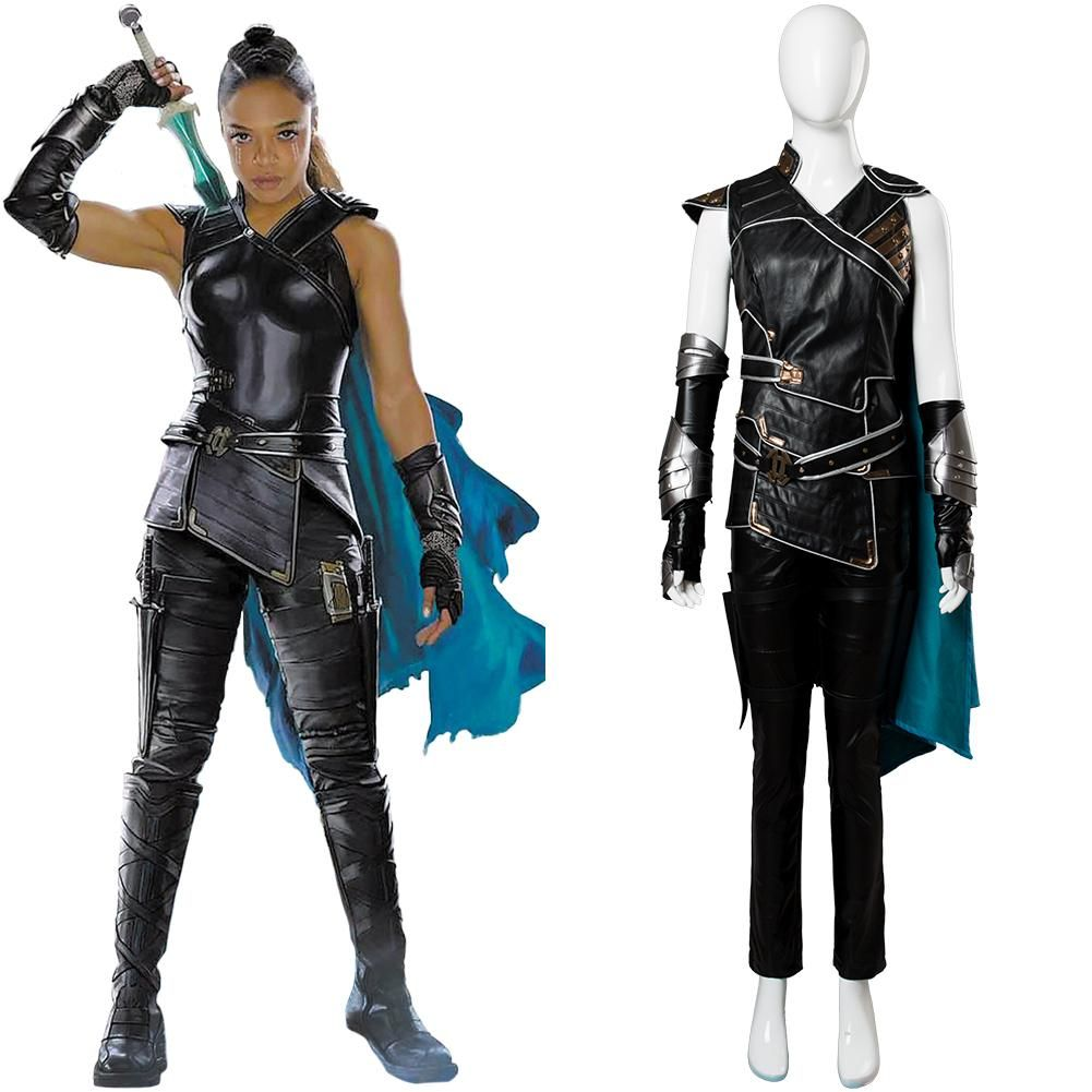 The Avengers Thor 3 Ragnarok Loki Tom Sakaar Cosplay Costume Suit Outfit Cape