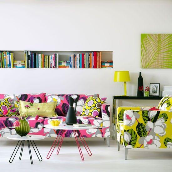 Tropical Wohnzimmer Wohnideen Living Ideas Interiors Decoration - haus einrichten moebel helle farben