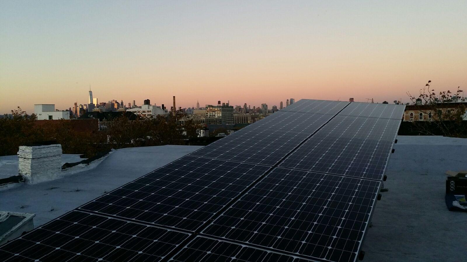 Tilt Rack Solar System Design Residential Solar Roof Solar Panel