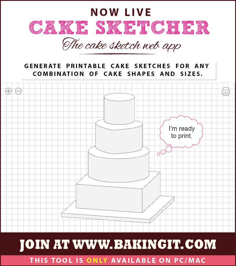 Images of Cake Sketch Software - #rock-cafe