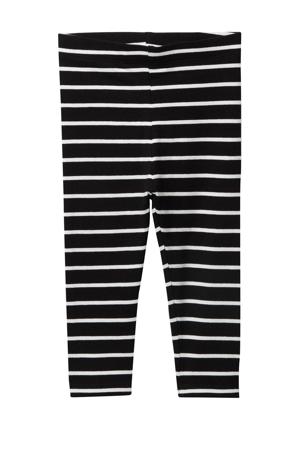 Joe Fresh | Stripe Leggings (Baby Girls) | HauteLook #stripedleggings