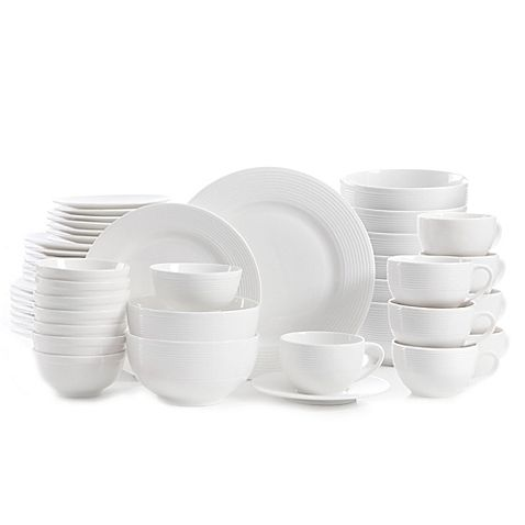 Gibson Home Regent Street 48 Piece Dinnerware Set With Images