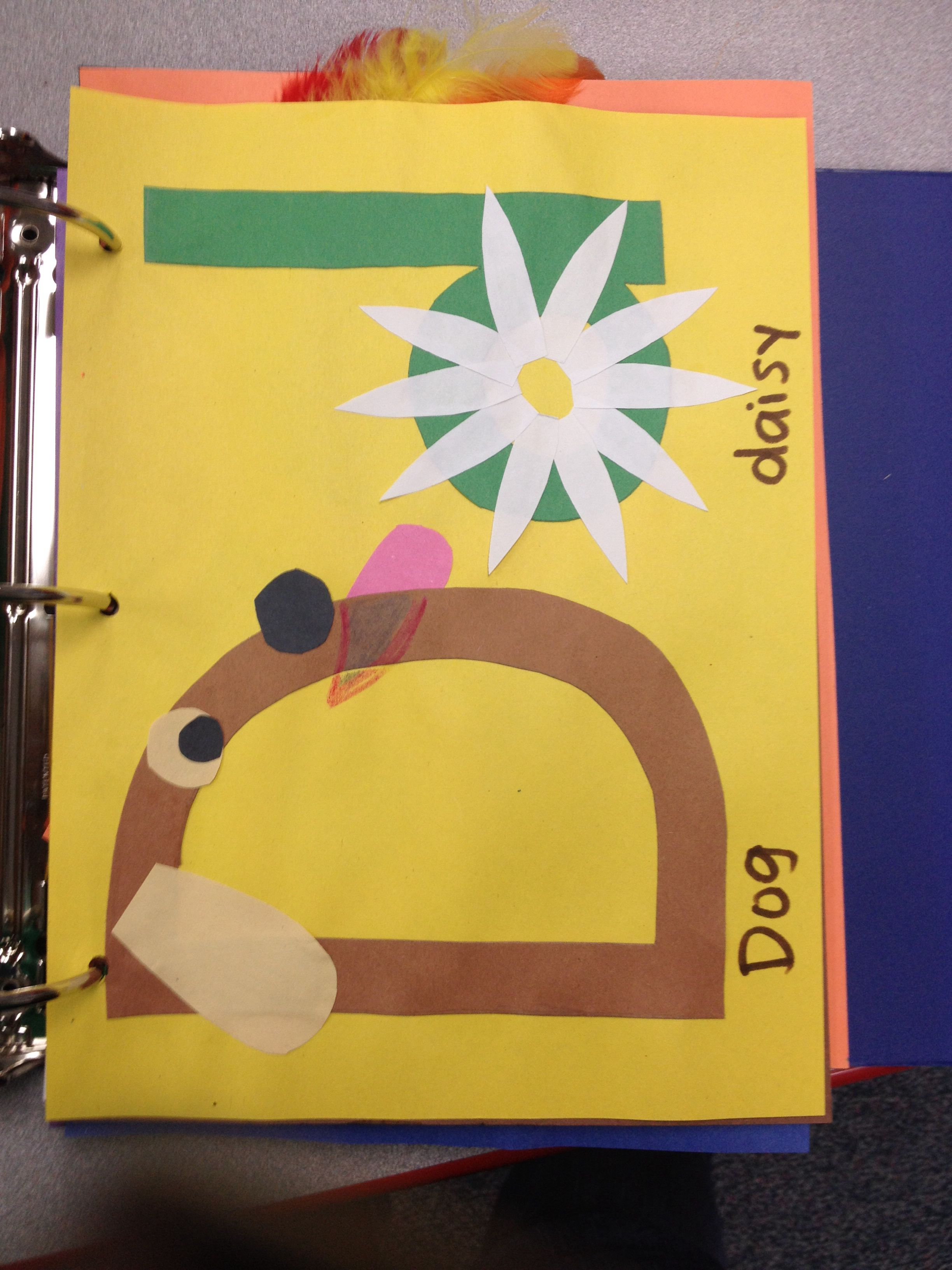 Letter D Craft Dog Daisy