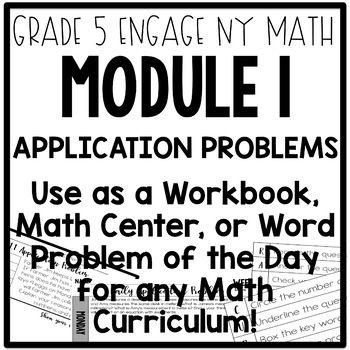 5th Grade Engage NY & Eureka Math Module 1 Application