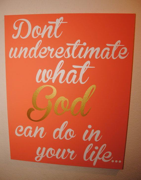 Faith Sign Bible Sign Inspirational Faith Sign Custom Canvas