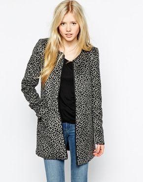 Vero moda mantel leopard