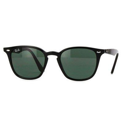67c8837e4c7fc Óculos de Sol Ray Ban Preto com Lente Verde - RB425860171