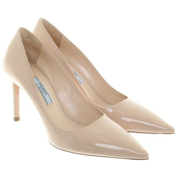 Pre-owned - Patent leather heels Prada il82NBWm