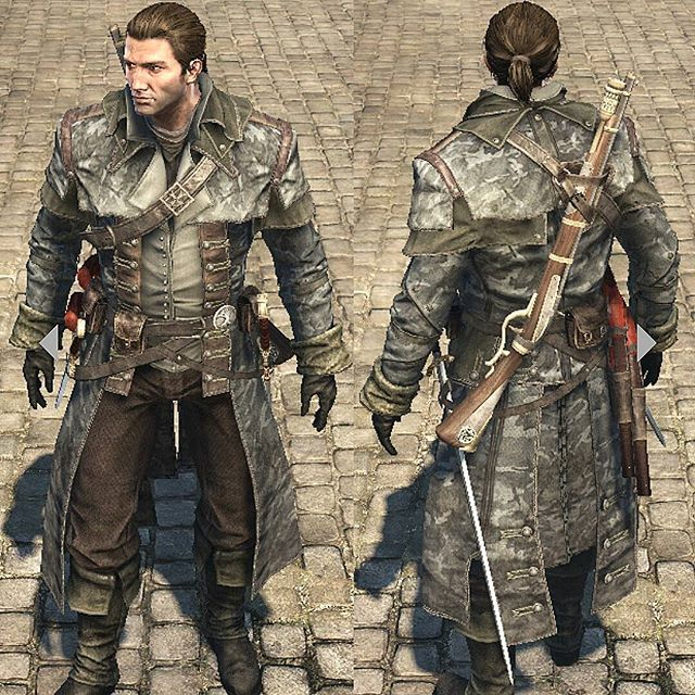 Anthony Garcia On Instagram Loving This Outfit On Shaypatrickcormac Military Style Design Loo Assassins Creed Rogue Assassins Creed Artwork Assassin S Creed