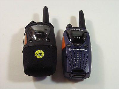motorola talkabout fr60 2 way walkie talkies set of two reptile rh pinterest com Owner's Manual Motorola Motorola 2-Way Radio Manual