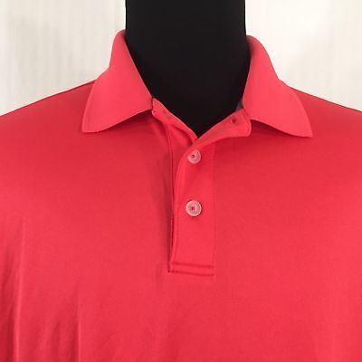 Champion Size XL Polo Golf Shirt Mens Red Short Sleeve  4221cefe6870