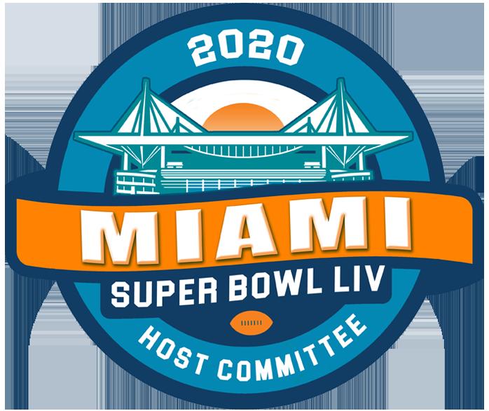 Logo Liv Super Bowl Miami 2020 Super Bowl Superbowl Logo Super Bowl Nfl