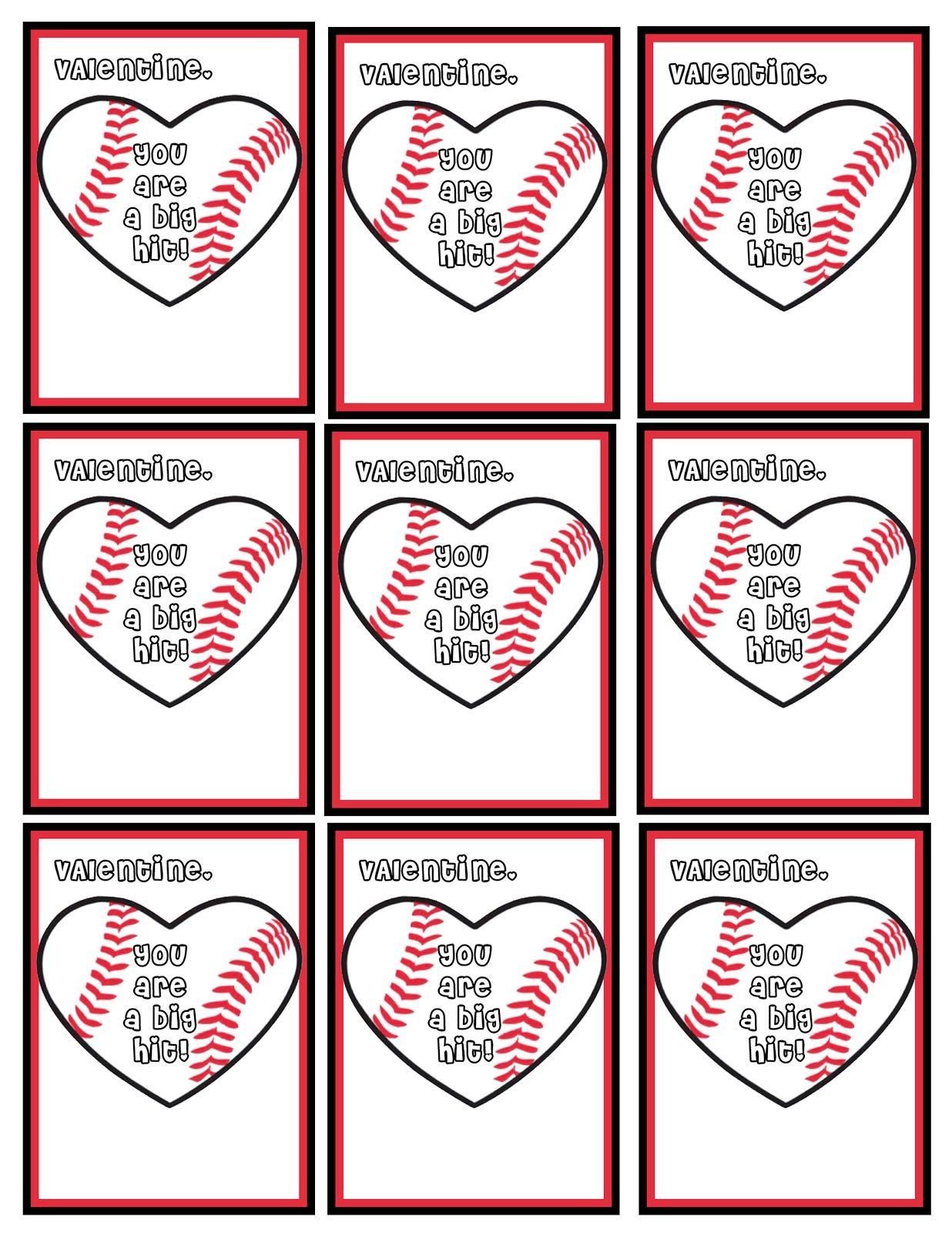 Softball Valentines Puns