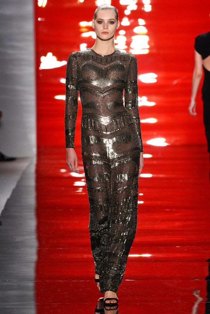 Reem Acra Fall 2012 Ready-to-Wear Fashion Show
