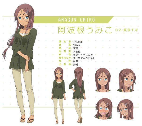 New Game Anime Character Designs Previewed Anime Character Design Anime Characters Female Character Design