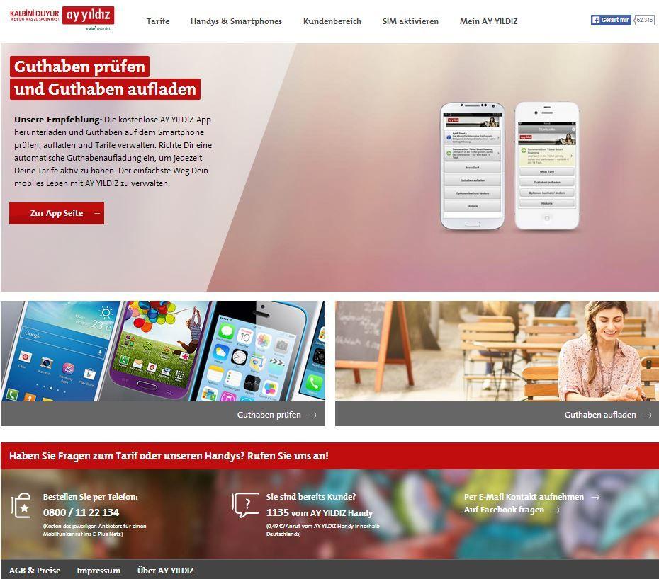 Ay Yildiz Ist Ein Mobilfunkunternehmen Mit Sitz In Dusseldorf Und Ist Eine 100 Tochter Der E Plus Mobilfunk Gmbh Co Kg Mobilfunk Innovative Produkte Funk