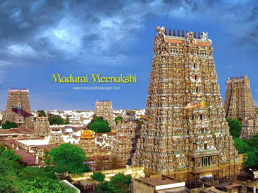 Download Madurai Meenakshi Temple Wallpapers, Hindu Temple